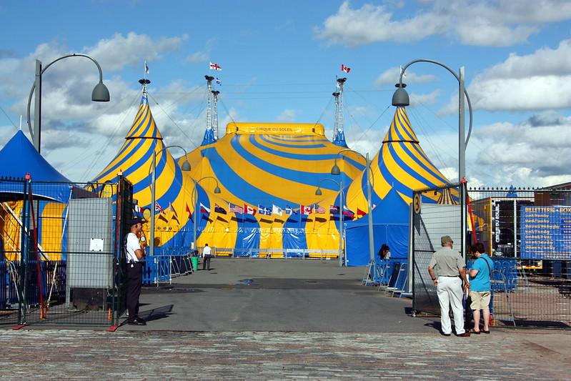 """Cirque Du Soleil"" a Teatro"
